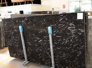 Nero Fossile marble